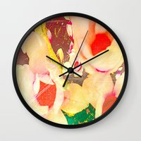 spice Wall Clocks featuring Spice up by Tyland Creations