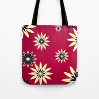 daisies Tote Bags featuring Daisies by Armin