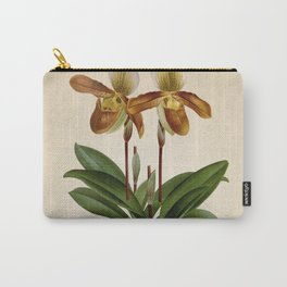 Cypripedium crossianum old plate Carry-All Pouch