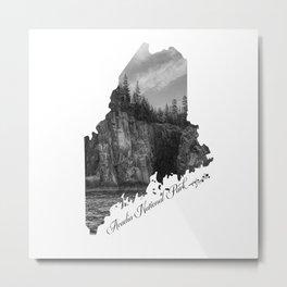 Acadia National Park, Maine Metal Print