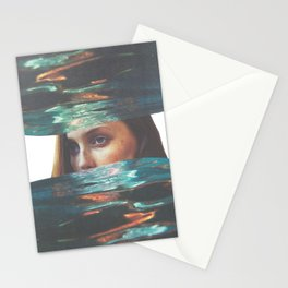overwhelm Stationery Cards