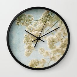 Blessings - Cherry Blossoms Wall Clock