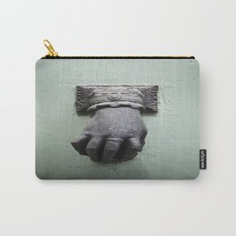 Old door with doorknob Carry-All Pouch