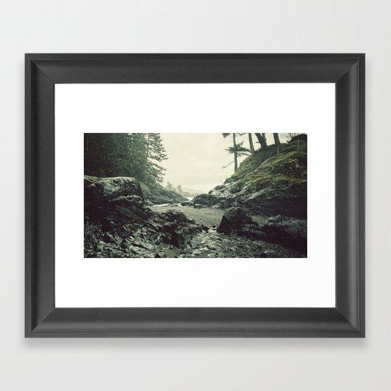 Downpour Framed Art Print