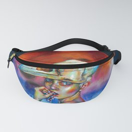 White crow Fanny Pack