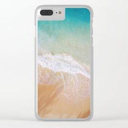 Dream Beach Clear iPhone Case