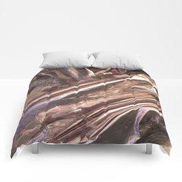 Rose Gold Foil Comforters