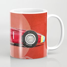 Nürburgring Vintage Fangio D50 Longnose Coffee Mug