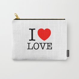 I Heart Love Carry-All Pouch