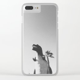 DINO / Cabazon Dinosaurs, California Clear iPhone Case