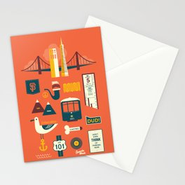 Sanfrancisco Stationery Cards
