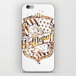 Hufflepuff Crest iPhone Skin