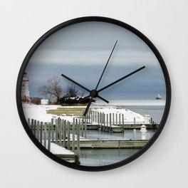Cheboygan Marina Wall Clock