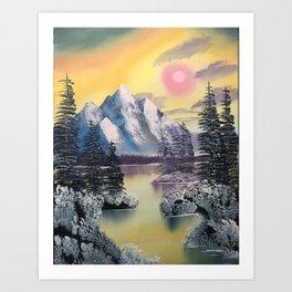 Warm Winter Day Art Print