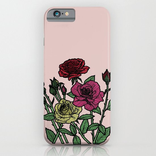 delicate roses iPhone & iPod Case