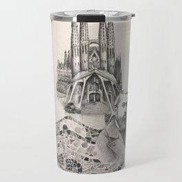 Tribute to Gaudi Travel Mug