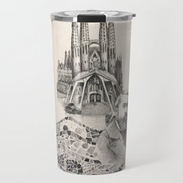 Tribute to Gaudi Travel Mug