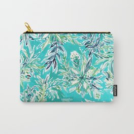 KAILUA CHILL Tropical Hawaiian Floral Carry-All Pouch