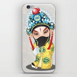 Beijing Opera Character LiuBei iPhone Skin