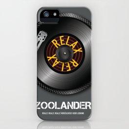 Zoolander - Alternative Movie Poster iPhone Case