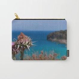 CretanThistle And Sea Carry-All Pouch