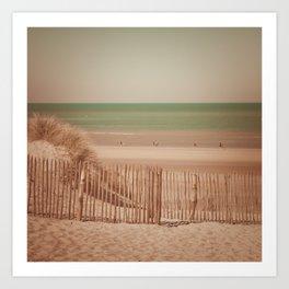 Beach dune miniature 2 Art Print