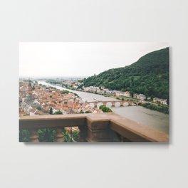 Heidelberg, Germany Metal Print