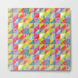Abstract angles Metal Print