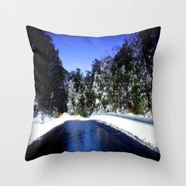 Mt. Baw Baw Throw Pillow