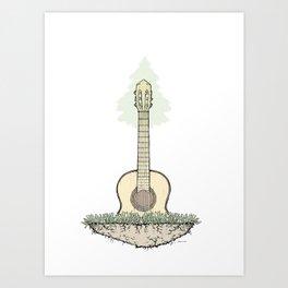 West Coast Music Art Print