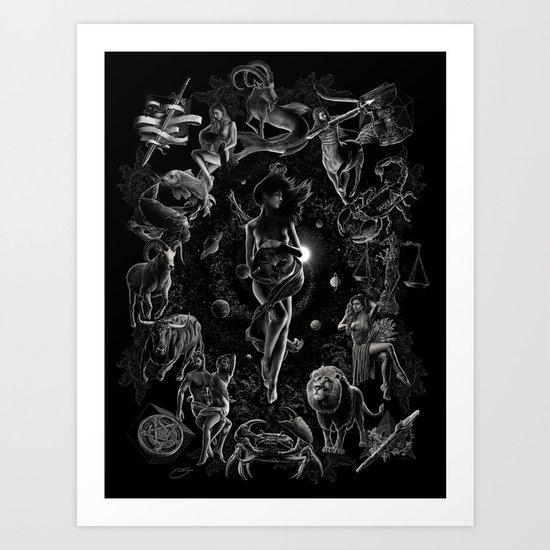 XXI. The World Tarot Card Illustration by erictecce