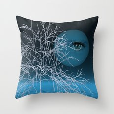 sunrise in nowhere-land Throw Pillow