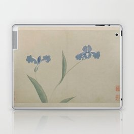 Vintage Chinese Ink and Brush Painting and Calligraphy Laptop & iPad Skin