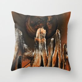 Dimensional Door Throw Pillow