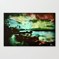 boats Canvas Prints featuring Boats  by Brittany Smith