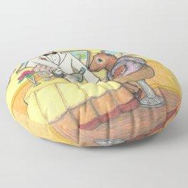 A Fancy Mongoose Floor Pillow