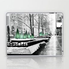 Christmas in Chicago Laptop & iPad Skin