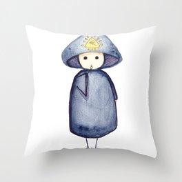 Sign of Harpocrates  Throw Pillow