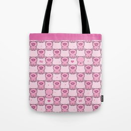Cute pink piglets Oink Oink! Tote Bag