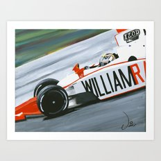 Speedy Dan Art Print