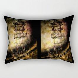 Lonely Lighthouse Rectangular Pillow