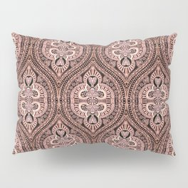 Copper Tribal Lace Ogee Pillow Sham