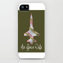 Air Force Wife T-38 iPhone Case