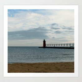 South Haven Lighthouse Art Print