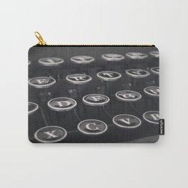 Smith-Corona Typewriter Keys Carry-All Pouch