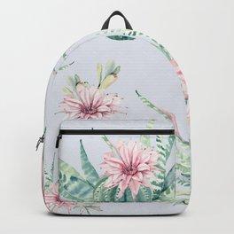 Cactus Pattern Light Blue #society6 #buyart Backpack