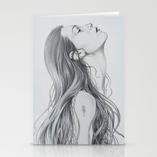 Mermaid Stationery Cards