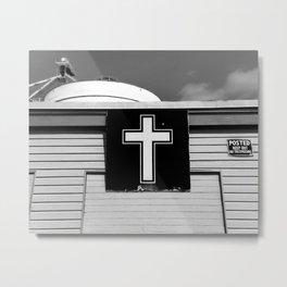 Storefront Church Metal Print