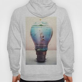 ocean in the light bulb Hoody