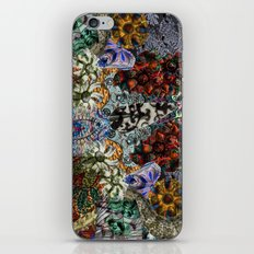 Psychedelic Botanical 15 iPhone & iPod Skin